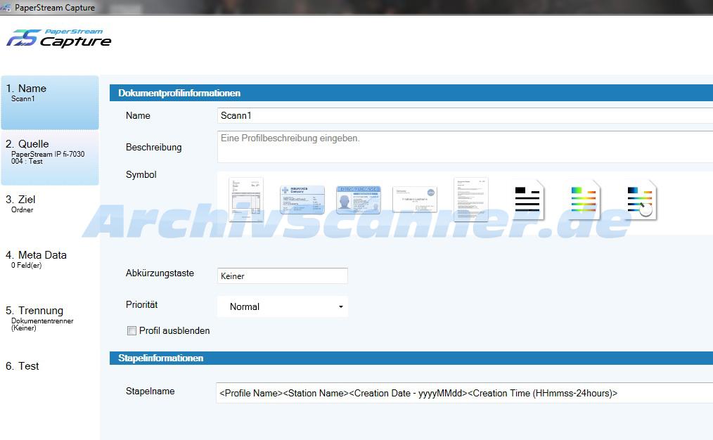 PaperStream Capture 1.5 wird zunächst exklusiv mit dem Fujitsu fi-7030 zusammen ausgeliefert.