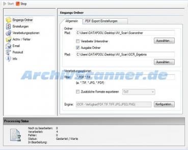 PDF Volltext Tool - Archivscanner.de